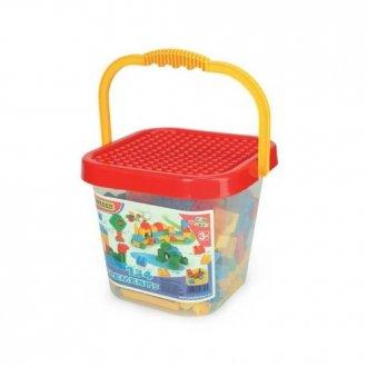Klocki Mini Blocks w wiaderku 134 - zdjęcie zabawki, gry