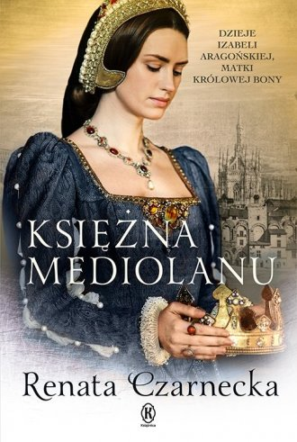 Księżna Mediolanu - okładka książki