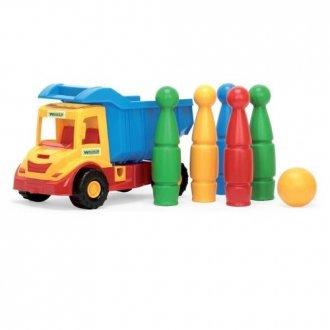 Multi Truck. Wywrotka z kręglami - zdjęcie zabawki, gry