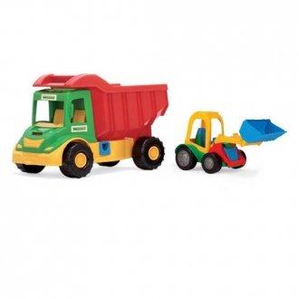 Multi Truck ze Spychaczem Buggy - zdjęcie zabawki, gry