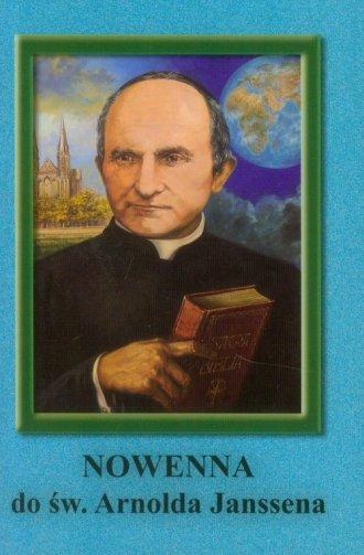 Nowenna do św. Arnolda Janssena - okładka książki