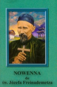 Nowenna do św. Józefa Freinademetza - okładka książki