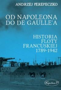 Od Napoleona do de Gaullea. Flota - okładka książki