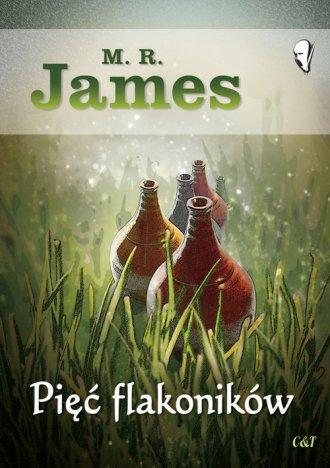 Pięć flakoników - okładka książki