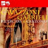 Ricercars and Canzonas, Cavazzoni / Gabrieli - okładka płyty