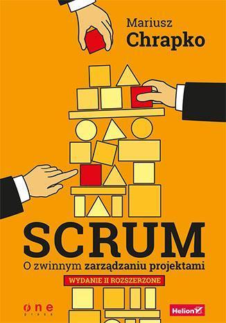 Scrum. O zwinnym zarządzaniu projektami - okładka książki