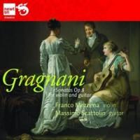 Sonatas Op. 8 For Violin, Gragnani - okładka płyty