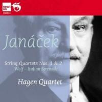 String Quartets No. 1 & 2 / Janacek / Wolf - okładka płyty