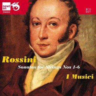 String Sonatas, Rossini, G. - okładka płyty