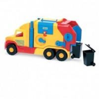 Super Truck Krótka śmieciarka. 36580 - zdjęcie zabawki, gry