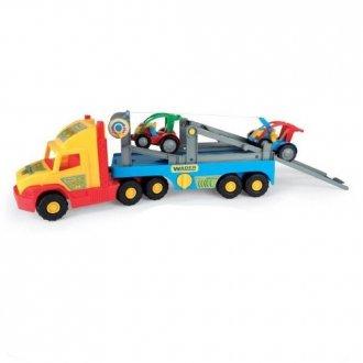 Super Truck z autkami Buggy - zdjęcie zabawki, gry