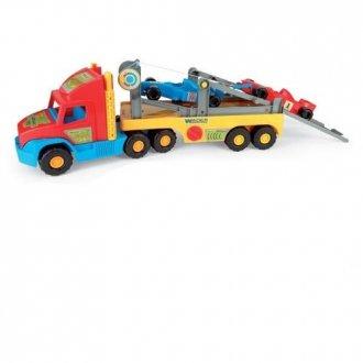 Super Truck z Formułą 1. 36620 - zdjęcie zabawki, gry
