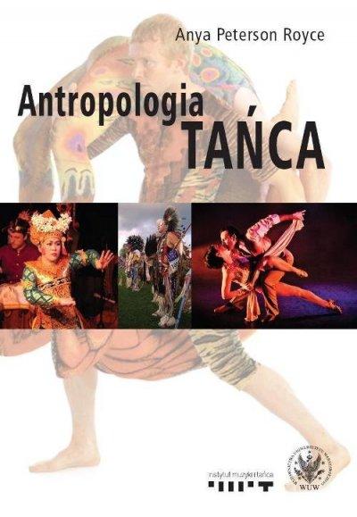 Antropologia tańca - okładka książki