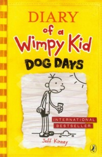 Diary of a Wimpy Kid Dog Days - - okładka książki