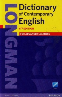 Dictionary of Contemporary English - okładka książki