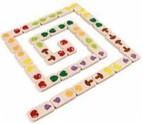 Domino z owocami - zdjęcie zabawki, gry