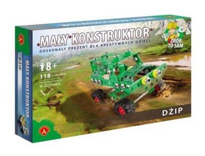 Dżip. Mały konstruktor - zdjęcie zabawki, gry