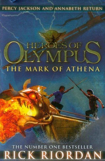 Heroes of Olympus. The Mark of - okładka książki
