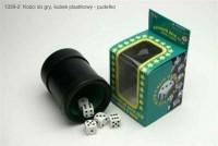 Kości do gry w kubku - zdjęcie zabawki, gry