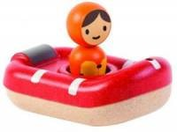 Łódź ratownicza. Zabawka do kąpieli - zdjęcie zabawki, gry