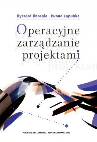 Operacyjne zarządzanie projektami - okładka książki