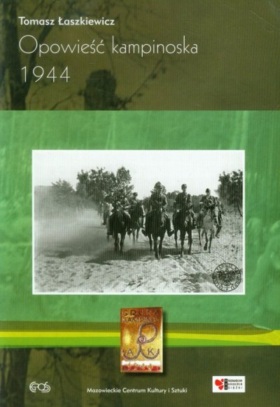 Opowieść kampinowska 1944 - okładka książki