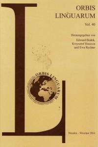 Orbis Linguarum vol. 40 - okładka książki