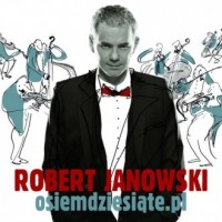 osiemdziesiąte - Robert Janowski - okładka płyty