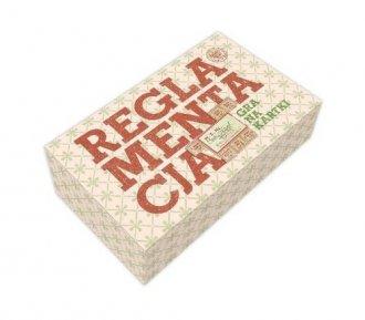 Reglamentacja. Gra na kartki (gra - zdjęcie zabawki, gry