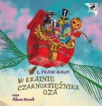 W krainie Czarnoksiężnika Oza - pudełko audiobooku