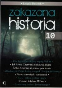 Zakazana historia 10 - okładka książki