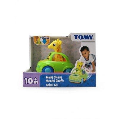 Autko z żyrafą (światło i dźwięk) - zdjęcie zabawki, gry