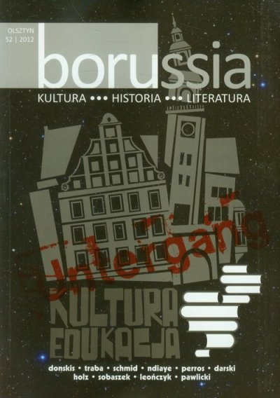 Borussia. Kultura, historia, literatura - okładka książki