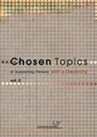 Chosen Topics of Supporting Persons with a Disability vol. 2 - okładka książki