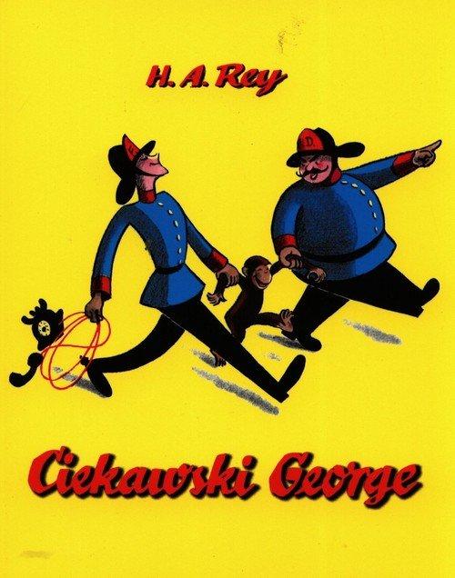 Ciekawski George - okładka książki