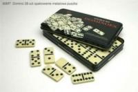 Domino (28 sztuk w metalowej puszce) - zdjęcie zabawki, gry