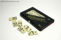 Domino czarne (28 sztuk w etui) - zdjęcie zabawki, gry