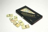 Domino kolorowe (28 sztuk) - zdjęcie zabawki, gry