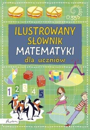Ilustrowany słownik matematyki - okładka podręcznika