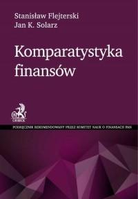 Komparatystyka finansów - okładka książki