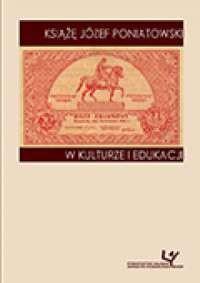 Książę Józef Poniatowski w kulturze - okładka książki