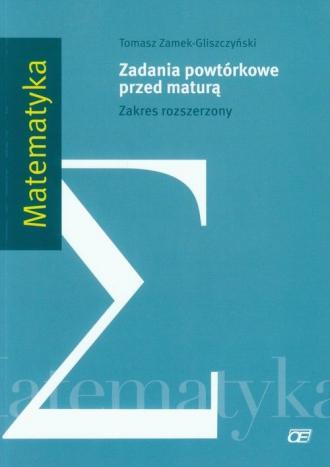 Matematyka. Zadania powtórkowe - okładka podręcznika