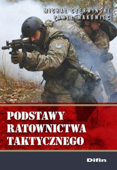 Podstawy ratownictwa taktycznego - okładka książki