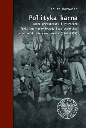 Polityka karna wobec przestępstw - okładka książki