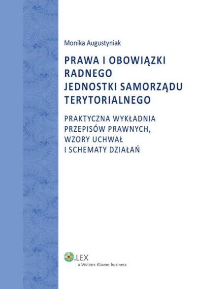 Prawa i obowiązki radnego jednostki - okładka książki