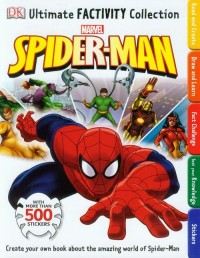 Spider-Man. Ultimate Factivity Collection - okładka książki