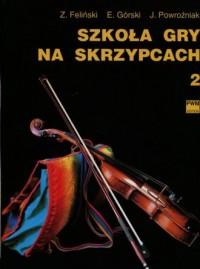Szkoła gry na skrzypcach 2 - okładka książki