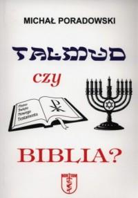 Talmud czy Biblia? - okładka książki