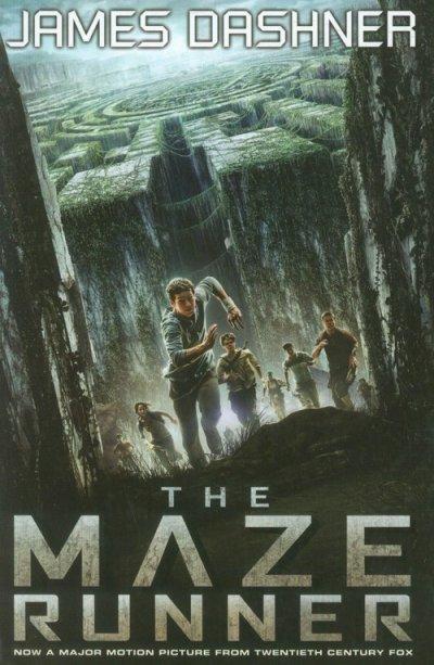 The Maze Runner (okładka filmowa) - okładka książki