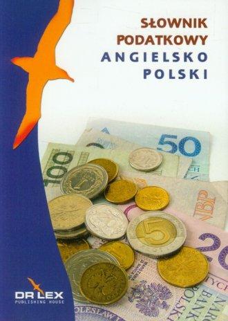 Angielsko-polski słownik podatkowy - okładka podręcznika